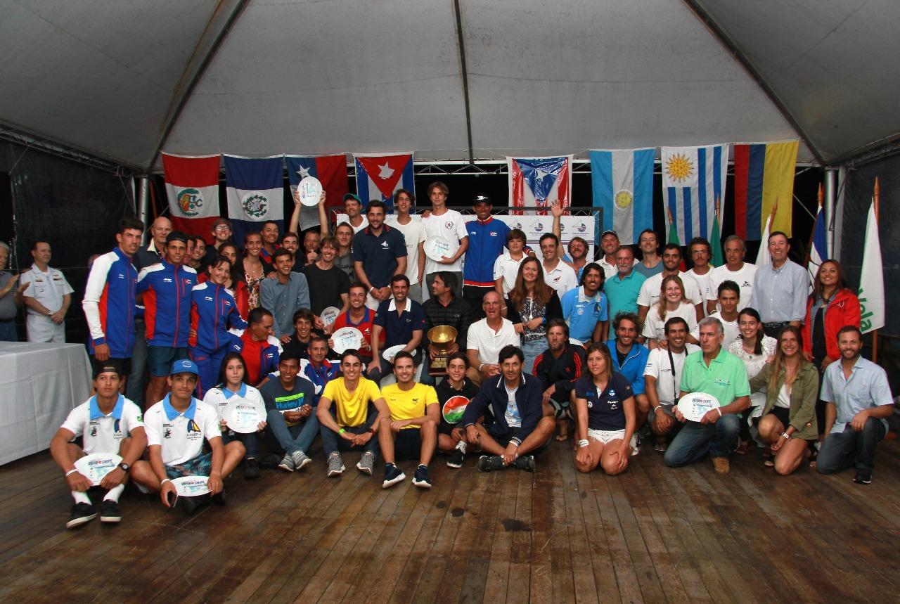 120 atletas de nove paises participaram
